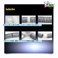MisterVac TubeFix Reparaturset passend geeignet für Ihren Nilfisk Attix 50-0H PC Schlauch image 3