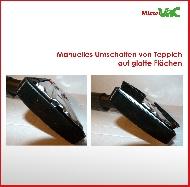 MisterVac Bodendüse umschaltbar geeignet für AEG-Electrolux AEL8815, AEL 8815,UltraOne image 3