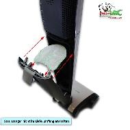 MisterVac 3x Motorschutzfilter geeignet für Vorwerk Kobold VB100 Akku-Staubsauger image 2