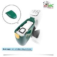MisterVac MisterVac Kassette Staubbehälter Filter Beutel kompatibel mit Vorwerk Kobold 135 image 3