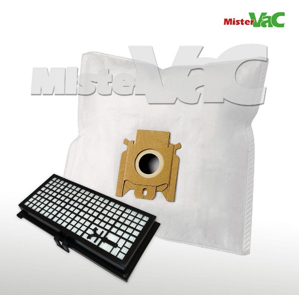 30 x staubsaugerbeutel hepa filter geeignet miele s 712. Black Bedroom Furniture Sets. Home Design Ideas