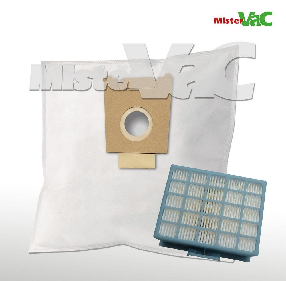 30 x staubsaugerbeutel hepa filter geeignet bosch bgl 32200 01 gl 30 ebay. Black Bedroom Furniture Sets. Home Design Ideas