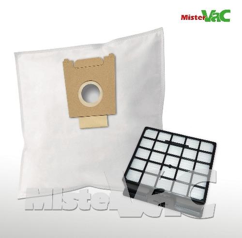 10x Staubsaugerbeutel Filter geeignet Siemens VS06G2012//03 synchropower