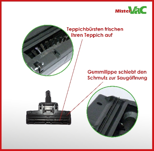 Bodendüse Staubsaugerdüse Kombidüse geeignet für AEG AAM6105