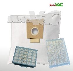 30 x staubsaugerbeutel hepa filter geeignet bosch bgl32400 01 gl 30 4054288549412 ebay. Black Bedroom Furniture Sets. Home Design Ideas