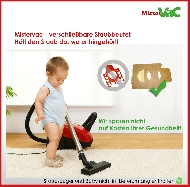 MisterVac 10x Staubsaugerbeutel geeignet für Siemens Super E electronic 320 image 3