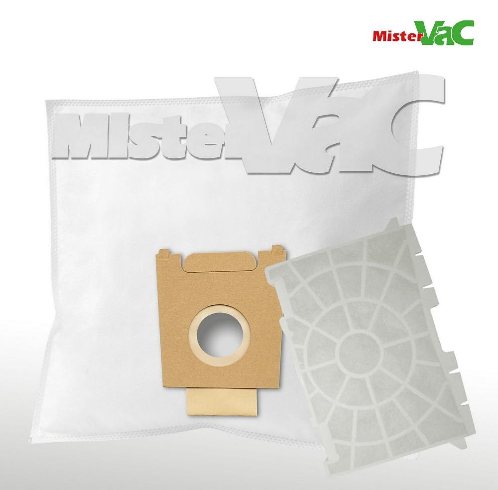 10 Mr.Clean Staubsaugerbeutel geeignet für Siemens Green Power VSZ4GP1266//01