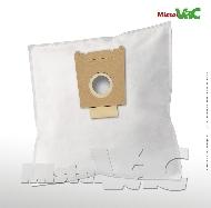 MisterVac 10x Dustbag suitable Siemens VS55A89/02-06 Silver & soft image 1