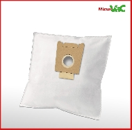 MisterVac 10x Dustbag suitable Siemens VS55A89/02-06 Silver & soft image 2