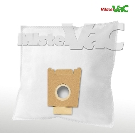 MisterVac 10x Dustbag suitable Siemens Typ VBBS15Z5V0 image 1