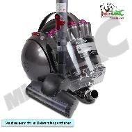MisterVac Bodendüse Turbodüse Turbobürste geeignet für dyson DC 37 image 2