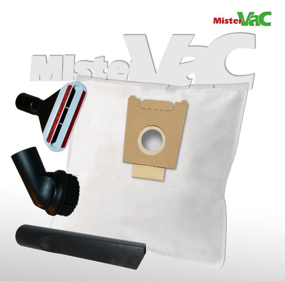 10x staubsaugerbeutel d senset geeignet bosch bgl3b110 gl 30 4054288624560 ebay. Black Bedroom Furniture Sets. Home Design Ideas