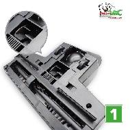 MisterVac Brosse de sol – brosse Turbo compatible avec Dirt Devil EQU Turbo Silence M 5080 image 2