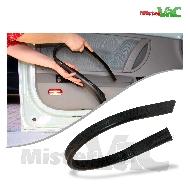 MisterVac Set de brosses compatibles avec Electrolux-Lux Lux D 770 Royal image 3