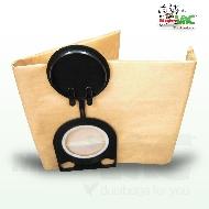 MisterVac 10 x Bolsa de aspiradora adecuada para EIBENSTOCK Industrie Sauger SS1200 image 1