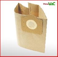 MisterVac bolsas de polvo adecuado Rowenta Original ZR 815 image 3