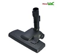 MisterVac Brosse de sol avec dispositif d'encliquetage compatible avec Miele S 8530 Elfenbeinweiß image 3