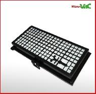 MisterVac Filter geeignet für Miele S 346 i Soft Satin image 2
