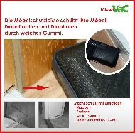 MisterVac Automatikdüse- Bodendüse geeignet für Miele S 4 Duoflex 4000 image 3