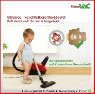 MisterVac sacs à poussière kompatibel avec Rowenta RO 4136 Artec 2 Serie image 3