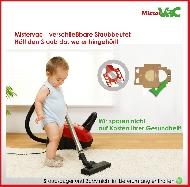 MisterVac sacchetti di polvere kompatibel mit Miele Swing H1 Powerline image 3