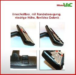 Bodendüse umschaltbar geeignet für Miele Swing H1 Powerline Detailbild 1