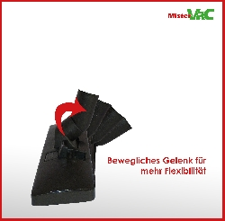Bodendüse umschaltbar geeignet für Miele Swing H1 Powerline Detailbild 2