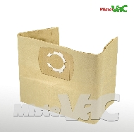 MisterVac 10x Dustbag suitable Aqua Vac Excell 30 S Synchro image 1
