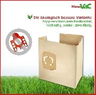 MisterVac 10 x Bolsa de aspiradora adecuada para Aqua Vac Excell 30 S Synchro image 3