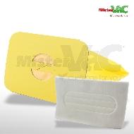 MisterVac 10x Staubsaugerbeutel + Hygienefilter geeignet für Electrolux Z320 image 1