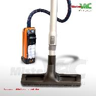 MisterVac Boquilla de suelo, boquilla a cepillo, boquilla de parquet adecuadas para Electrolux-Lux D710 image 2