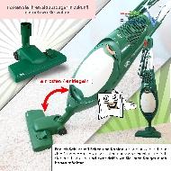 MisterVac Bodendüse Einrastdüse geeignet für Ihren Vorwerk kobold 150 image 2