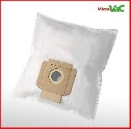 MisterVac 10x Staubsaugerbeutel geeignet für AEG Vampyr CEPW24TRE 700W image 2