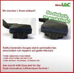 Automatikdüse- Bodendüse geeignet für Bosch BGS5BL432 Relaxx x Detailbild 3