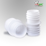 MisterVac TubeFix Reparaturset passend geeignet für Ihren Miele S3141, S 3141 Schlauch image 1