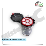 MisterVac Staubbehälter Filter kompatibel mit Severin MY 7102 image 2
