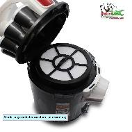 MisterVac Staubbehälter Filter kompatibel mit PROFI CARE PC-BS 3039 image 2