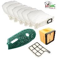 MisterVac Hygienefilter Gitter-Abdeckung-Beutel kompatibel mit Vorwerk Kobold 135,136 image 1