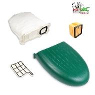 MisterVac Kassette Staubbehälter Filter Beutel kompatibel mit Vorwerk Kobold VK136 image 2